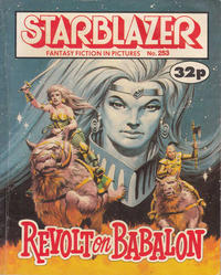 Cover Thumbnail for Starblazer (D.C. Thomson, 1979 series) #253