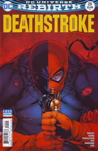 Cover Thumbnail for Deathstroke (DC, 2016 series) #20 [Shane Davis Cover Variant]