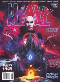Cover for Heavy Metal Magazine (Heavy Metal, 1977 series) #286 - Magick Special [Cover A David Stoupakis]