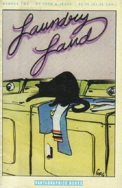 Cover for Laundryland (Fantagraphics, 1990 series) #2