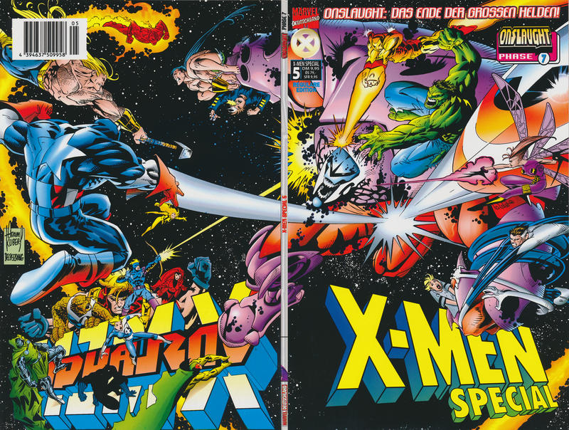Cover for X-Men Special (Panini Deutschland, 1998 series) #5