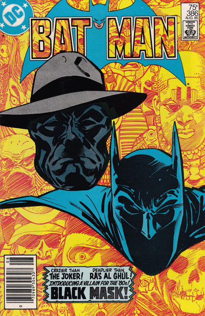 Cover for Batman (DC, 1940 series) #386 [Direct Sales]