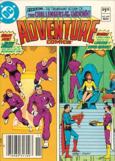 Cover for Adventure Comics (DC, 1938 series) #493 [Direct Sales]