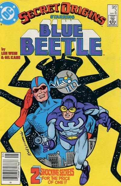 Cover for Secret Origins (DC, 1986 series) #2 [Newsstand]