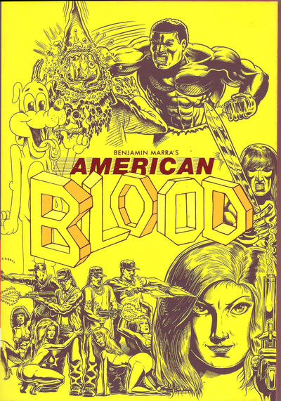 Cover for American Blood (Fantagraphics, 2016 series)