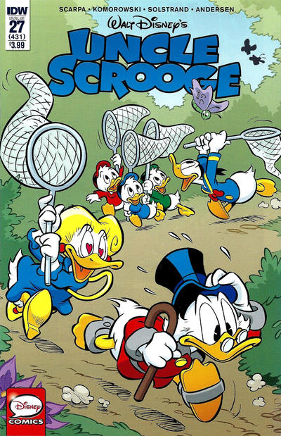 Cover for Uncle Scrooge (IDW, 2015 series) #27 / 431 [Retailer Incentive Cover Variant]