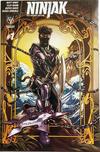 Cover for Ninjak (Valiant Entertainment, 2015 series) #1 [4CG Variant Edition - Rafa Sandoval]