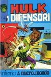 Cover for Hulk E I Difensori (Editoriale Corno, 1975 series) #31