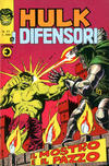 Cover for Hulk E I Difensori (Editoriale Corno, 1975 series) #21
