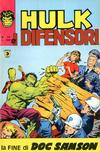 Cover for Hulk E I Difensori (Editoriale Corno, 1975 series) #24