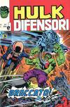 Cover for Hulk E I Difensori (Editoriale Corno, 1975 series) #37