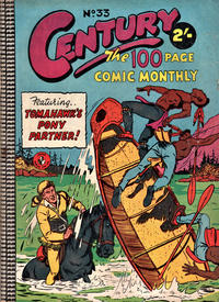 Cover Thumbnail for Century, The 100 Page Comic Monthly (K. G. Murray, 1956 series) #33