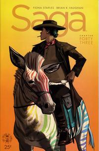 Cover Thumbnail for Saga (Image, 2012 series) #43