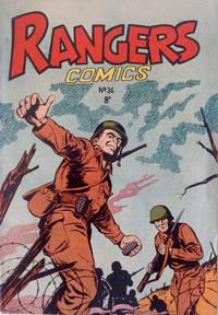 Cover Thumbnail for Rangers Comics (H. John Edwards, 1950 ? series) #36