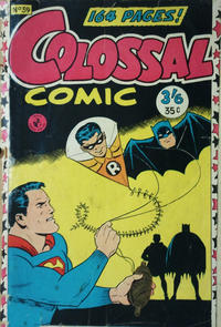 Cover Thumbnail for Colossal Comic (K. G. Murray, 1958 series) #39