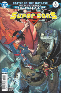 Cover Thumbnail for Super Sons (DC, 2017 series) #5