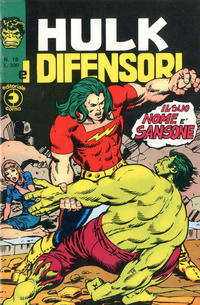 Cover Thumbnail for Hulk E I Difensori (Editoriale Corno, 1975 series) #18