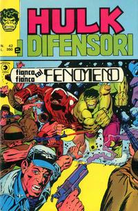 Cover Thumbnail for Hulk E I Difensori (Editoriale Corno, 1975 series) #42