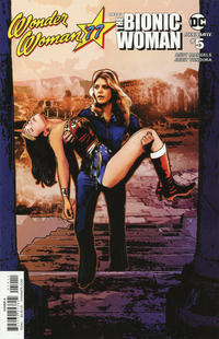 Cover Thumbnail for Wonder Woman '77 Meets the Bionic Woman (Dynamite Entertainment, 2016 series) #5 [Cover A]