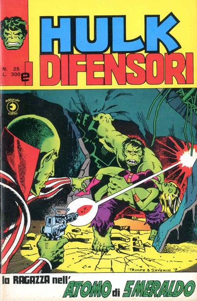 Cover for Hulk E I Difensori (Editoriale Corno, 1975 series) #25
