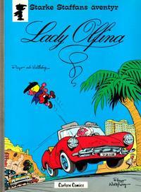 Cover Thumbnail for Starke Staffans äventyr (Carlsen/if [SE], 1977 series) #6 - Lady Olfina