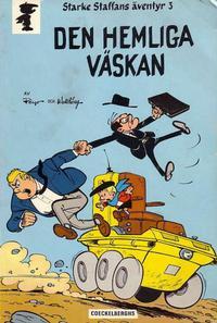Cover Thumbnail for Starke Staffans äventyr (Coeckelberghs, 1973 series) #3 - Den hemliga väskan