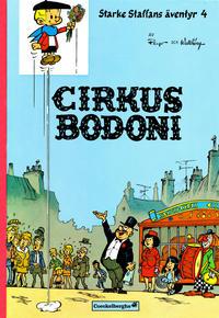 Cover Thumbnail for Starke Staffans äventyr (Coeckelberghs, 1973 series) #4 - Cirkus Bodoni