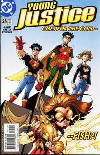 Cover Thumbnail for Young Justice (DC, 1998 series) #24