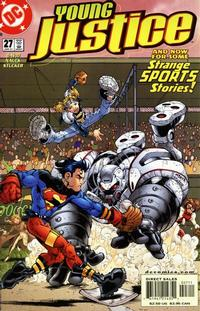 Cover Thumbnail for Young Justice (DC, 1998 series) #27
