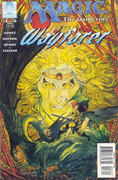 Cover for Magic the Gathering: Wayfarer (Acclaim / Valiant, 1995 series) #3
