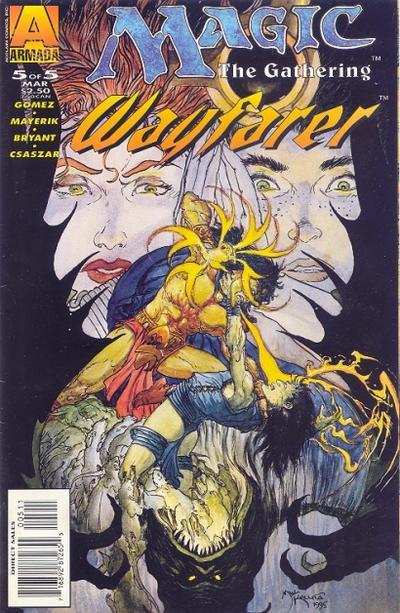 Cover for Magic the Gathering: Wayfarer (Acclaim / Valiant, 1995 series) #5
