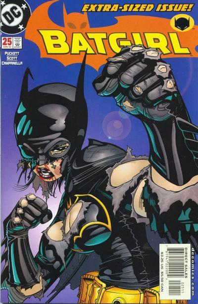 Cover for Batgirl (DC, 2000 series) #25
