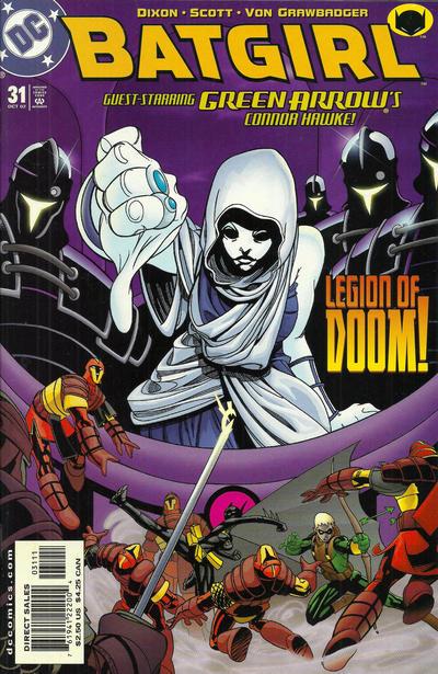 Cover for Batgirl (DC, 2000 series) #31