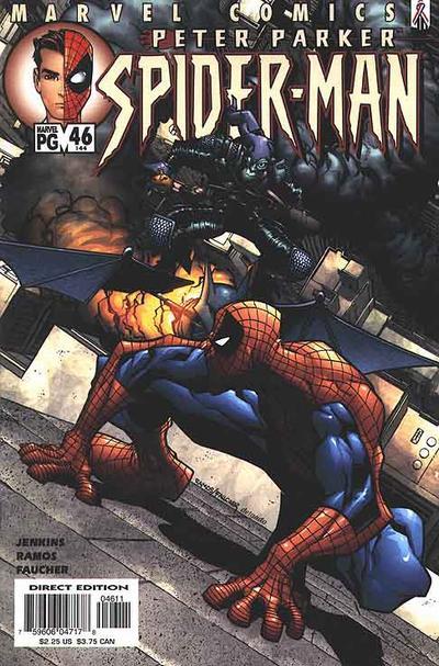 Cover for Peter Parker: Spider-Man (Marvel, 1999 series) #46 (144)