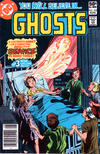 Cover for Ghosts (DC, 1971 series) #103 [Newsstand]