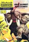 Cover Thumbnail for Illustrierte Klassiker [Classics Illustrated] (1956 series) #26 - König Salomon's Schatzkammer [HLN 138]