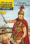 Cover Thumbnail for Illustrierte Klassiker [Classics Illustrated] (1956 series) #28 - Cäsars Eroberungszüge [HLN 133]