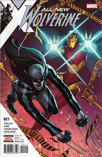 Cover Thumbnail for All-New Wolverine (Marvel, 2016 series) #21