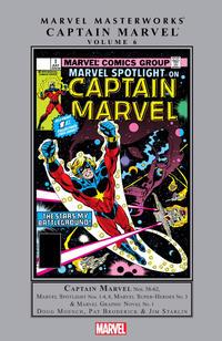 Cover Thumbnail for Marvel Masterworks: Captain Marvel (Marvel, 2005 series) #6