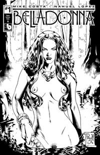 Cover Thumbnail for Belladonna (Avatar Press, 2015 series) #1 [Gypsy Century Nude A - Paulo Siquiera]