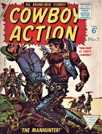 Cover Thumbnail for Cowboy Action (L. Miller & Son, 1956 series) #7