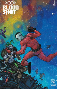 Cover Thumbnail for 4001 A.D.: Bloodshot (Valiant Entertainment, 2016 series) #1 [Cover D - Ryan Lee]