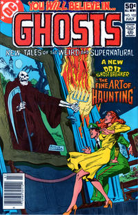 Cover Thumbnail for Ghosts (DC, 1971 series) #102 [Newsstand]