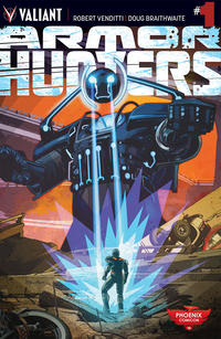 Cover Thumbnail for Armor Hunters (Valiant Entertainment, 2014 series) #1 [Phoenix Comicon 2014 - Tommy Lee Edwards]