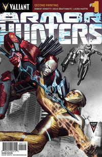 Cover Thumbnail for Armor Hunters (Valiant Entertainment, 2014 series) #1 [Second Printing]