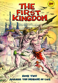 Cover for The First Kingdom (Comics and Comix, 1974 series) #2