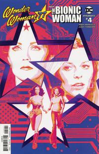 Cover Thumbnail for Wonder Woman '77 Meets the Bionic Woman (Dynamite Entertainment, 2016 series) #4 [Cover B Sienkiewicz]