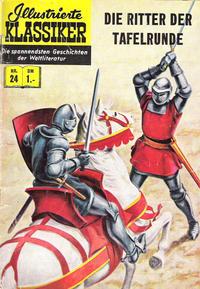 Cover Thumbnail for Illustrierte Klassiker [Classics Illustrated] (BSV - Williams, 1956 series) #24 - Die Ritter der Tafelrunde [HLN 32]