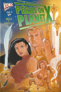 Cover Thumbnail for Perils on Planet X (Atomic Pulp, 2014 series) #1