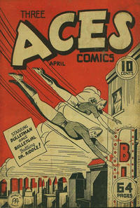 Cover Thumbnail for Three Aces Comics (Anglo-American Publishing Company Limited, 1941 series) #v2#3